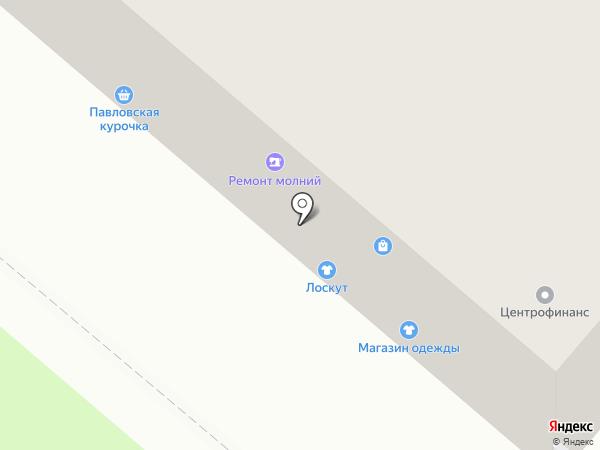 Павловская курочка на карте Владимира