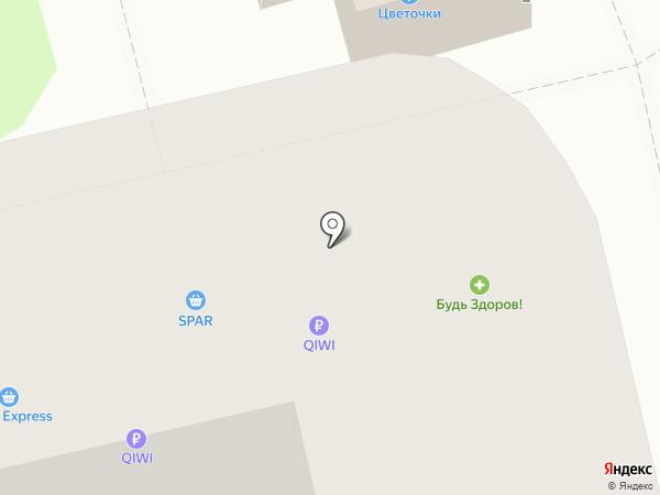 Квартал на карте Владимира
