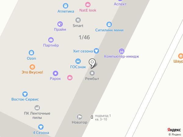 LoryWeb на карте Владимира