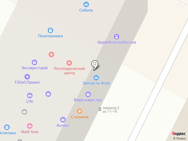 ЦАУ на карте Владимира