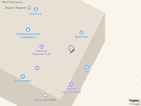 Модный свет на карте Владимира
