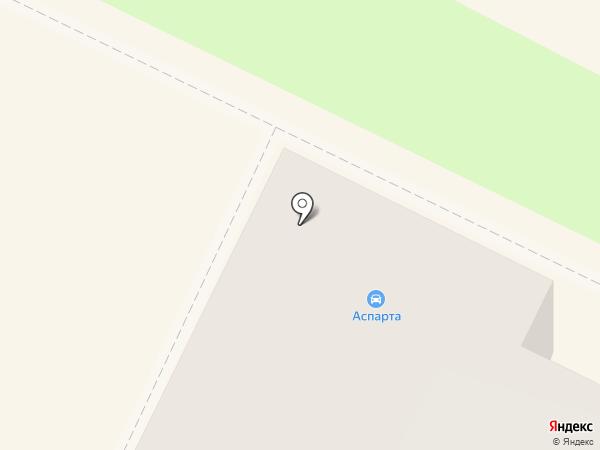 Аспарта на карте Владимира