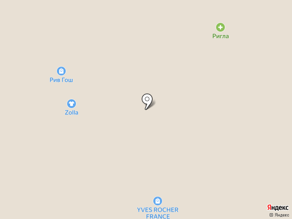 Ив Роше на карте Владимира