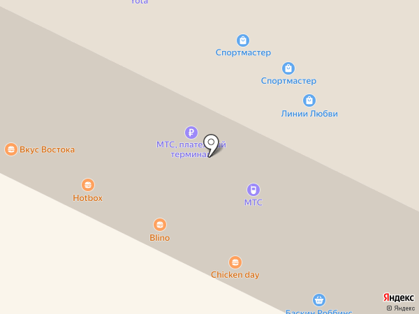 Табачная лавка на карте Владимира