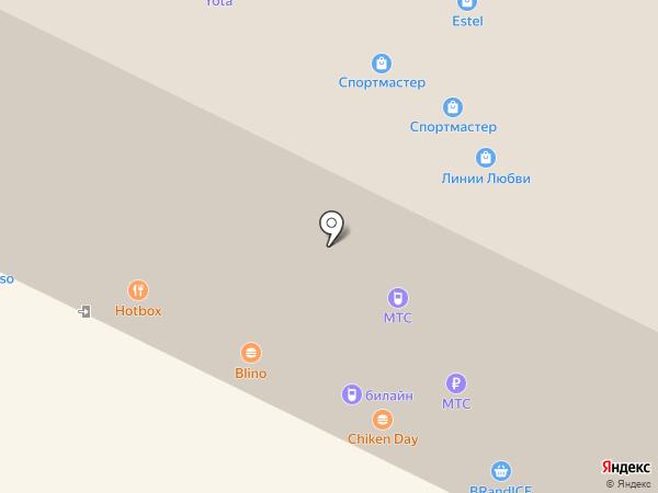 Banana Brow Bar на карте Владимира