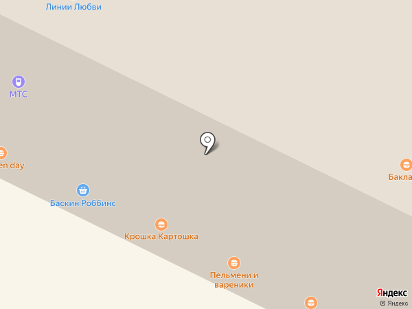 Пельмени и вареники на карте Владимира