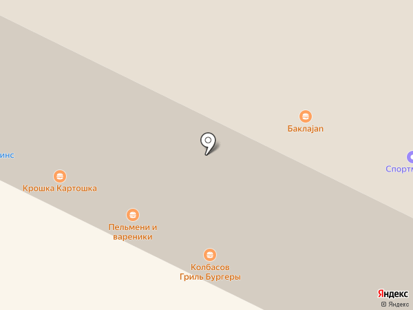 Колбасов на карте Владимира