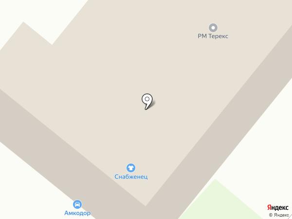 RM TEREX на карте Владимира