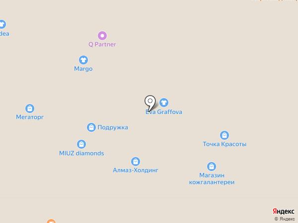 Glance на карте Владимира