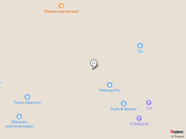 Кот Маркот на карте Владимира