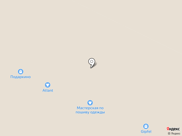 Мастерская по пошиву одежды на карте Владимира