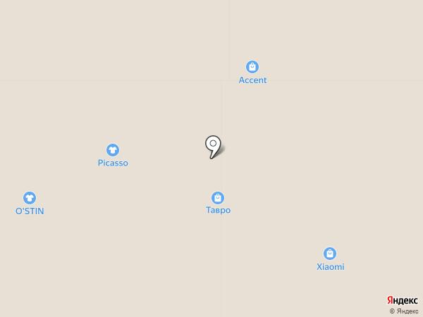 Тавро на карте Владимира