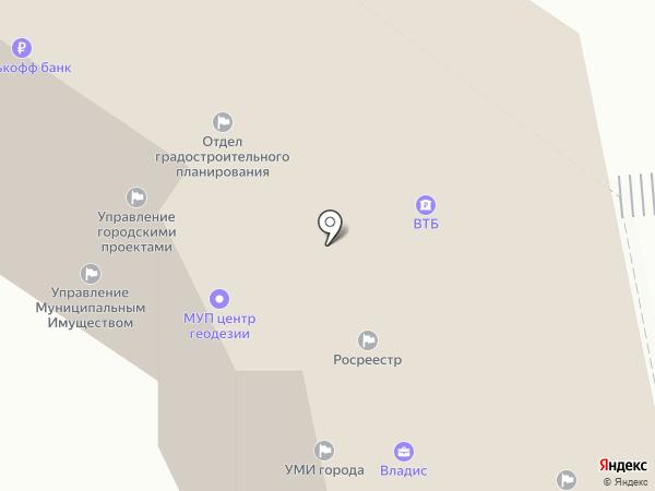 Банкомат, Банк ВТБ 24, ПАО на карте Владимира
