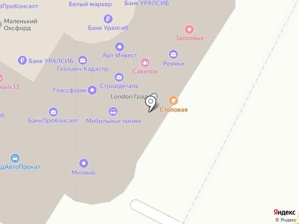 ТВ Миг на карте Владимира