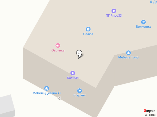 СК Европлан на карте Владимира