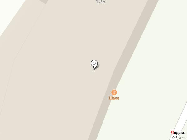 Шале гриль на карте Владимира