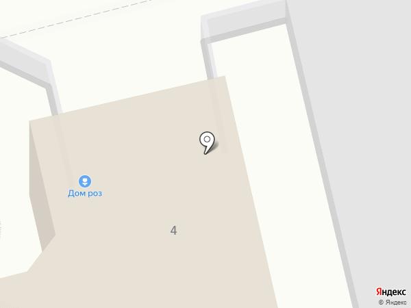 Дом Роз на карте Владимира