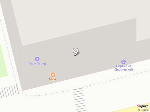 Тамбовчанка на карте Владимира