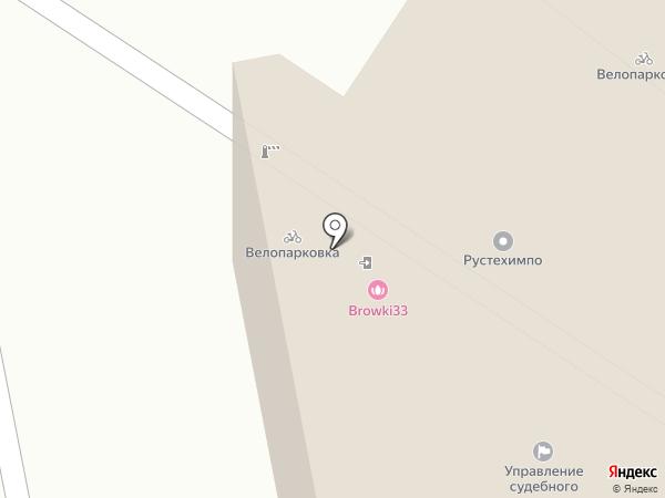 Ортоника на карте Владимира