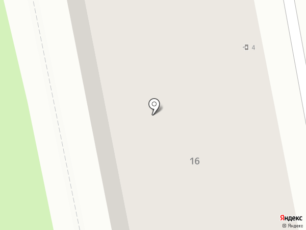 Рантье на карте Владимира