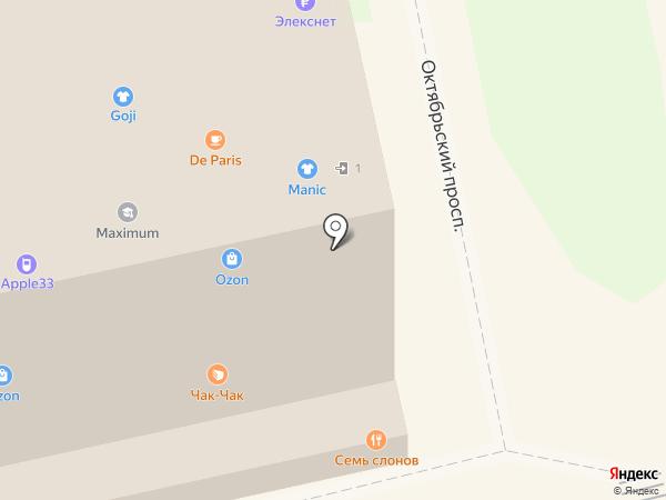 Семь слонов на карте Владимира