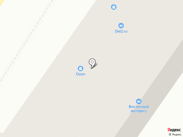 Восточный экспресс на карте Владимира