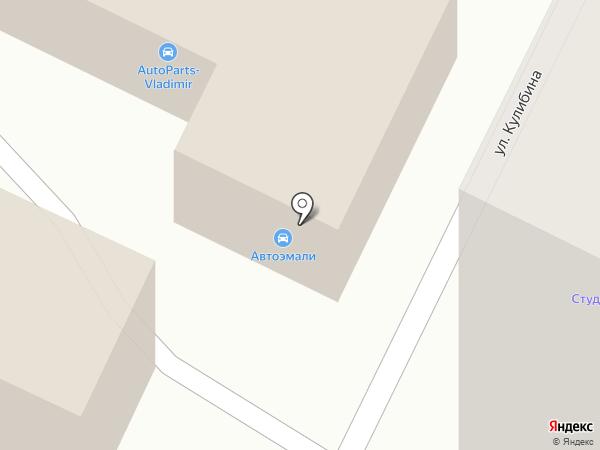Честный эвакуатор на карте Владимира