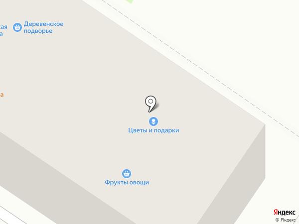 Юрьевская буренка на карте Владимира