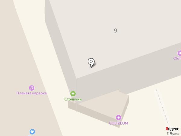 Печки Лавочки на карте Владимира