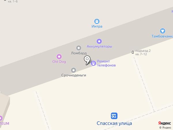 Печки-Лавочки на карте Владимира