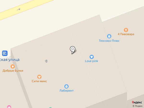 Сити-микс на карте Владимира