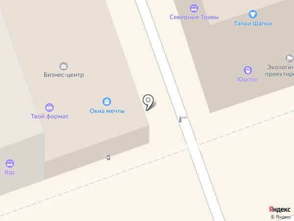 ДОДОР на карте Владимира