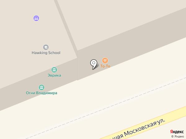 Свободное пространство на карте Владимира
