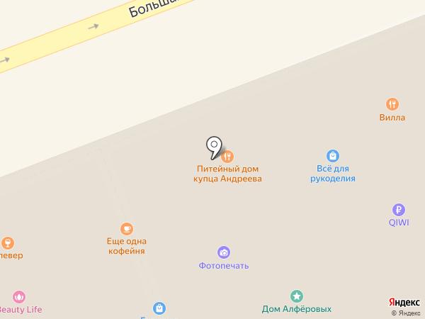 Острый Козырёк на карте Владимира