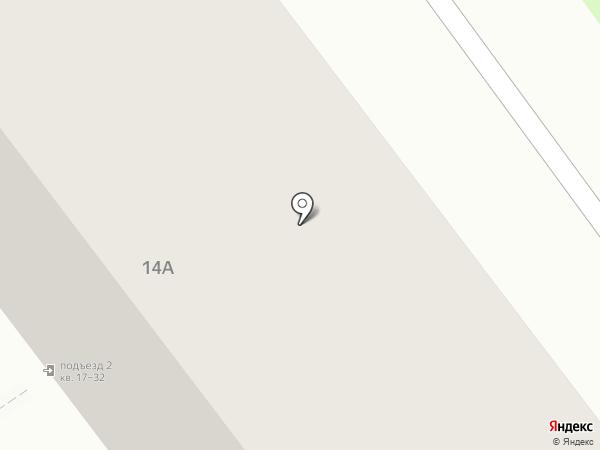 Школа боевых искусств на карте Владимира