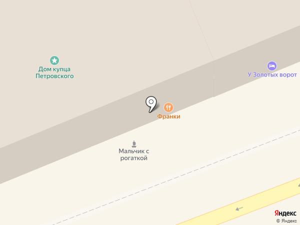 ПУЭР БАР на карте Владимира