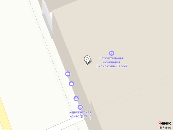 Эксклюзив-Строй на карте Владимира