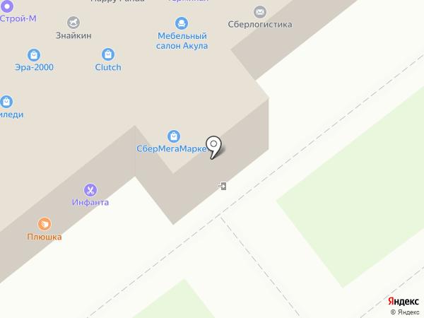Шнурок на карте Владимира