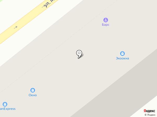 Барс на карте Владимира