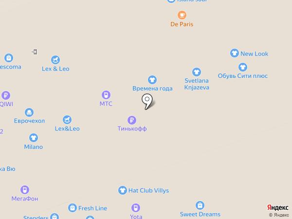 Yota на карте Владимира