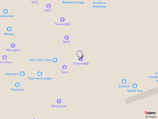 Лавка подарков на карте Владимира