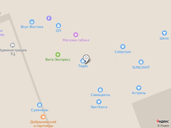 Casada на карте Владимира