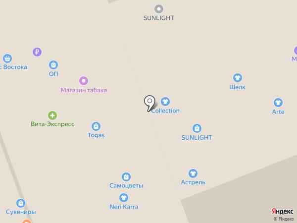 Красный угол на карте Владимира