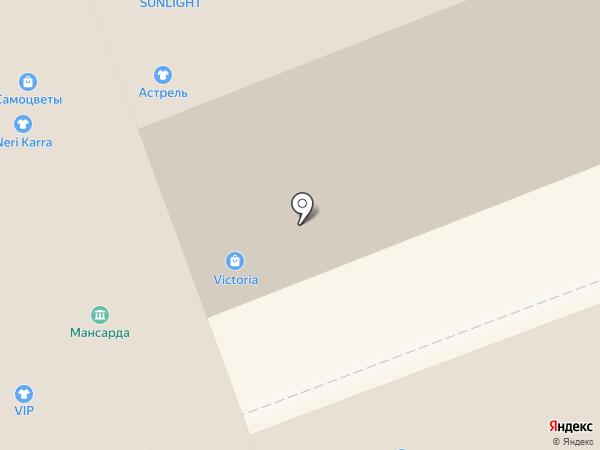 Магазин подростковой обуви на карте Владимира