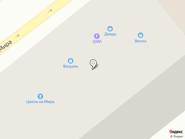 Диада на карте Владимира