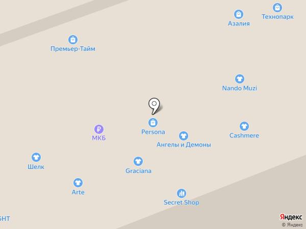 Шелк на карте Владимира