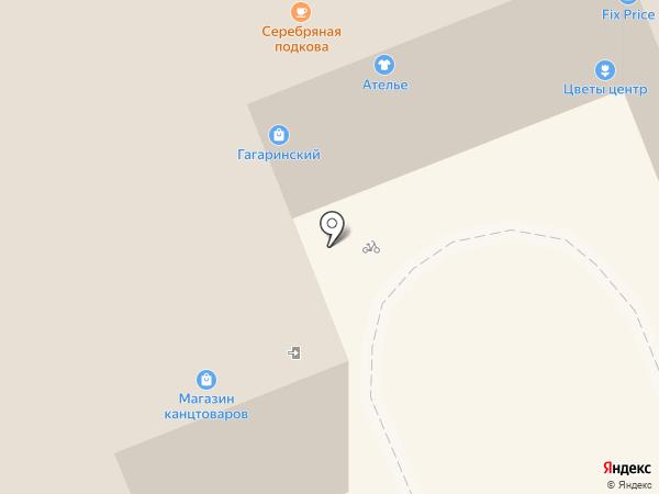 Золотой колобок на карте Владимира