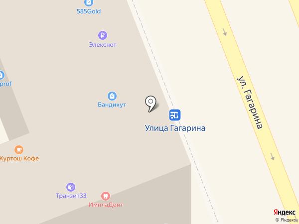 РасТёмКа на карте Владимира