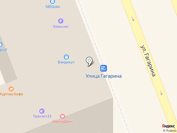 БЕЛЫЙ КRОЛИК на карте Владимира