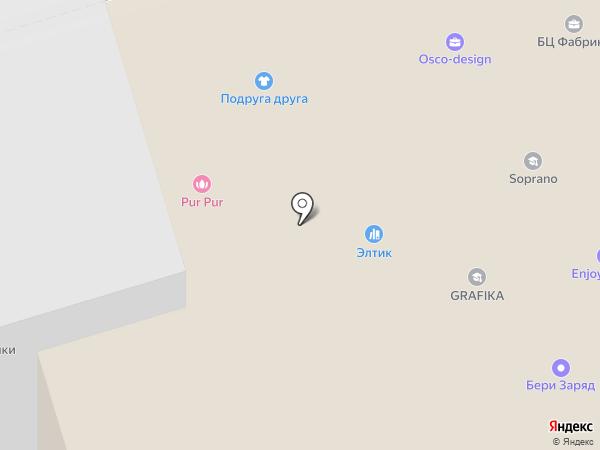 Оранжскул на карте Владимира